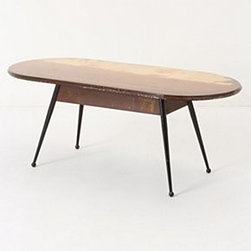 """Aurel K. Basedow - Washed Out Coffee Table - One of a kindWood17""""H, 37""""W, 18""""DItaly"""