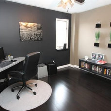 Contemporary Home Office Office Space