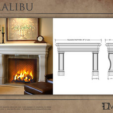 Traditional Fireplaces by Distinctive Mantel Designs, Inc