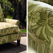 traditional armchairs by Arhaus