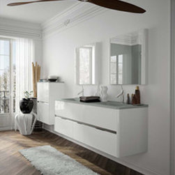 DOLCE BY AMBIANCE BAIN - AMBIANCE BAIN modular units comprise numerous ranges of stylish ready-made designs. They are available in set sizes with set specifications. Simply follow the steps below and you will soon be on your way to your new bathroom.