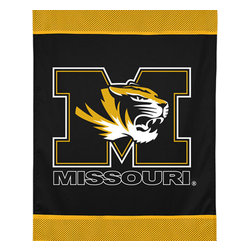 Sports Coverage - NCAA Missouri Tigers College Team Logo Wall Hanging Accent - Features: