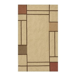 Momeni Veranda Indoor/Outdoor Area Rug - Beige - Spice up your floor with the Momeni Veranda Indoor/Outdoor Rug - Beige. This fine hand-hooked rug is designed in an uncomplicated geometric style and features durable 100% polypropylene construction in neutral sandy brown with muted earth-tone accents. This high-quality rug is available in a variety of sizes and shapes to suit any floor space. The rug is resistant to mildew and fading from UV rays and suitable for both indoor and outdoor settings.Sizes offered in this rug:Following are all sizes for this rug. Please note that some may be currently unavailable due to inventory. Also please note that rug sizes may vary by up to 4 inches in dimensions listed.Dimensions:2 x 3 ft. Rectangle3.9 x 5.9 ft. Rectangle5 x 8 ft. Rectangle8 x 10 ft. Rectangle9 ft. RoundCaring for Your Momeni RugVacuum rug weekly or hose down to clean and hang to dry.About MomeniMomeni a family name a mark of quality and an expert source of ideas for making your home come alive with true timeless beauty was established half a century ago when Ali A. (Haji) Momeni started a family business bringing exquisite Persian carpets to the United States. Though styles have come and gone behind them all is the fundamental principle that Momeni rugs are created to touch our senses. For half a century Momeni's award-winning rugs have been recognized time and time again with America's Magnificent Carpet Award for sophisticated style and quality craftsmanship suitable for any setting.