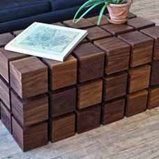Modern Coffee Tables by RockPaperRobot