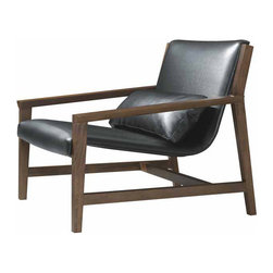 Nuevo Living - Bethany Lounge Chair - Bethany Lounge Chair combines sleek modernity with timeless style and comfort. The beauty of the rich wood frame and gorgeous leather will bring fresh inspiration to your space.