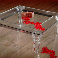 Traditional Coffee Tables by Shahrooz Acrylic Furniture & Sculptures