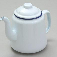 SCP — Enamel teapot