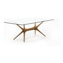 Artek - X-Frame Coffee Table - Features: -Frame individually hand sculptured.-Tempered glass top.-Distressed: No.-Powder Coated Finish: No.-Gloss Finish: No.-Hardware Material: Metal.-Solid Wood Construction: No.-Reclaimed Wood: No.-Non-Toxic: No.-UV Resistant: No.-Heat Resistant: No.-Scratch Resistant: No.-Rust Resistant: No.-Glass Component: Yes .-Leaf Included: No.-Wine Storage: No.-Shelving Included: No.-Drawers Included: No.-Stemware Holder: No.-Table Base Type: Leg.-Outdoor Use: No.-Swatch Available: Yes.-Commercial Use: Yes.-Recycled Content: No.-Eco-Friendly: Yes.Specifications: -FSC Certified: No.-ISTA 3A Certified: No.-General Conformity Certified: No.-Green Guard Certified: No.-ISO 9000 Certified: Yes.-ISO 14000 Certified: Yes.Dimensions: -Overall Product Weight: 24.3.Assembly: -Assembly Required: Yes.-Additional Parts Required: No.