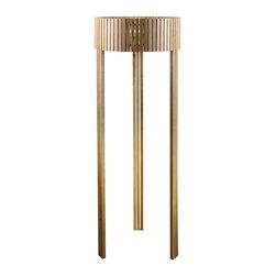 ParrotUncle - Solid Wood Drum Shade Tripod Floor Lamp - Solid Wood Drum Shade Tripod Floor Lamp