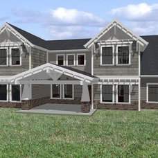 Traditional Rendering Design Photo of Our Dream Home