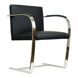 "IFN Modern - Cantilever Chair - Product DimensionsChair Dimensions: 32"" H x 23\"" W x 23\"" D"