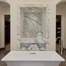 Traditional Bathroom by Kathleen DiPaolo Designs
