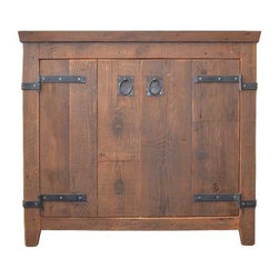 "Native Trails - Native Trails 36"" Americana Vanity in Chestnut - *Crafted from recycled wood for exceptional strength"
