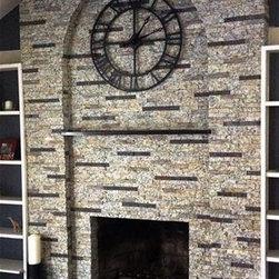 Recycled Granite Thin Stone Veneer -