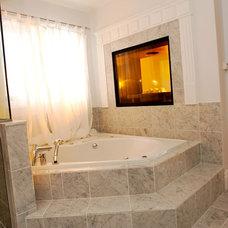 Traditional Bathroom by Ceramic Decor Centre Ltd.