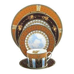 Bernardaud - Bernardaud Grand Versailles 5-Piece Place Setting - Bernardaud Grand Versailles 5-Piece Place Setting