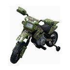 Fun Wheels - Fun Wheels True Timber Camo Motorbike Battery Powered Riding Toy - Green - 14CMB - Shop for Tricycles and Riding Toys from Hayneedle.com! Give kids a taste of the open road early on the Fun Wheels True Timber Camo Motorbike Battery Powered Riding Toy Green. This adventurous toy looks and feels like a real motorcycle but offers the safety of extra balance wheels and adult-approved speeds. Powered by a rechargeable 6-volt battery. Playtime: 1-2 hours.