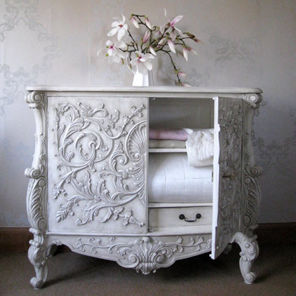 Traditional Storage Units And Cabinets Baroque Carved Cabinet