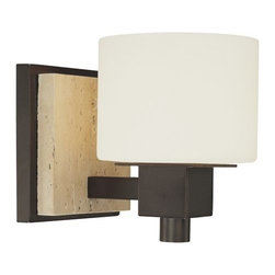 "Minka Lavery - Minka Lavery 6151-244 1 Light 6.5"" Height Bathroom Sconce - Single Light 6.5"" Height Bathroom SconceFeatures:"