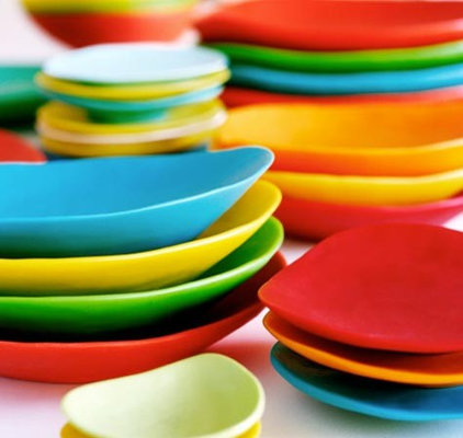 Eclectic Serving Dishes And Platters by Dinosaur Designs