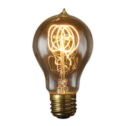 Bulbrite - Bulbrite Quad Loop Filament Incandescent Edison Light Bulb - 6 pk. Multicolor - - Shop for Light bulbs from Hayneedle.com! Your unique space needs the Bulbrite Quad Loop Filament Incandescent Edison Light Bulb - 6 pk. to complete the look. Whether antique or industrial you know lighting can make or break the vibe. This nostalgic loop filament Edison bulb has been meticulously crafted to preserve every classic detail of the original. Recognized for their antique finish defined steeple and intricate filament design these bulbs are ideal for any transparent light fixture both indoors and out. Comes in a pack of six.About BulbriteBulbrite is a family-owned company started in 1971 and based in Moonachie New Jersey. Bulbrite is renowned for their commitment to innovation education and service. They are a leading manufacturer and supplier of innovative energy-efficient light source solutions. Bulbrite is an award-winning company. Most recently their president Cathy Choi received the 2010 Residential Lighting Industry Leadership Award and the Bulbrite Swytch LED Desk Lamp received the 2010 Home Furnishing News Award of Excellence. They have introduced award-winning products and offer an extensive line of light bulbs including LEDs HID compact fluorescents fluorescents halogens krypton/xenon incandescent bulbs and specialty lamps. Bulbrite is an active member of the ZHAGA the American Lighting Association a silver sustaining member of the Illuminating Engineering Society of North American (IESNA) an Energy Star Partner a Lighting Facts LED Product Partner a member of LUMEN Coalition and a member of the International Dark Sky Association.