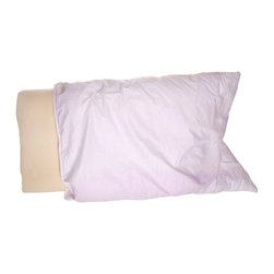 Living Healthy Products - Deluxe Contour Pillow With Velour Cover - Designed to be comfortable in any sleeping position, the high-quality Deluxe Contour Memory Foam Neck Pillow conforms to the shape of your head and neck to provide continuous support during all night.