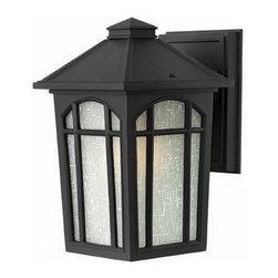 Hinkley Lighting - Hinkley Lighting 1980BK-LED Cedar Hill Black LED Outdoor Wall Sconce - Hinkley Lighting 1980BK-LED Cedar Hill Black LED Outdoor Wall Sconce