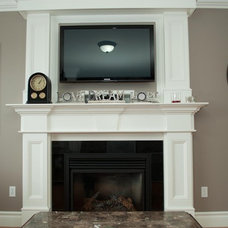 Traditional Indoor Fireplaces by Moulding Warehouse