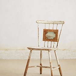 "Swarm - Rose Garden Chair - By SwarmOne of a kindWood, canvas36""H, 17""W, 17""D19"" seat heightHandmade in Netherlands"