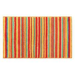 "Grund - Grund Premium Bathroom Comfort Mats-Stripes Series, Orange, Large - Time-honored and spunky!  The Stripes Series is a classic with a twist using colorful combinations and peppy stripes sure to send you straight into a fabulous day!  Machine tufted.  Comes in two colors and is available in three sizes:  21"" X 24"" small, 24"" X 36"" medium, 24"" X 60"" large."