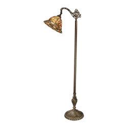 Dale Tiffany - Dale Tiffany Bochner Downbridge Floor Lamp - Product Details