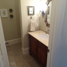 Traditional Powder Room by Ellen Grasso & Sons, LLC