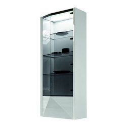 Rossetto - Sapphire Curio with 1 Right Door - Features:
