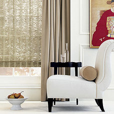 Asian Roman Shades by Damon Hines Window Coverings- D.H.W.C.