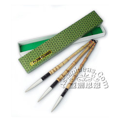 Home Office - Today's feature product: Large Chinese Calligraphy Brush Set (Set of 3)