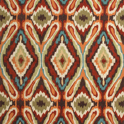 Jaipur Rugs - Transitional Tribal Pattern Red /Orange Polyester Tufted Rug - BR38, 7.6x9.6 - A youthful spirit enlivens Esprit, a collection of contemporary rugs with joie de vivre! Punctuated by bold color and large-scale designs, this playful range packs a powerful design punch at a reasonable price.