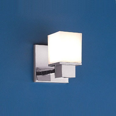 Milford by Hudson Valley Bath Sconce - This sconce caught my eye with its boxy good looks which is definitely eye catching. Well priced, I could see these sconces making a statement in a contemporary bath.