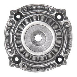Notting Hill DH - Queensway Backplates in Antique Pewter (NHE511-AP) - Queensway Backplates in Antique Pewter 1-1/2""