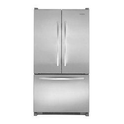 KitchenAid French-Door Refrigerator w/ Interior Water Dispenser - This counter-depth refrigerator reduces overall depth by up to 5 in. to give you more usable space. ENERGY STAR® qualified appliance uses up to 20% less energy than refrigerators without.