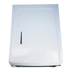 Moen - Moen Creative Specialties White Combo Towel Cabinet/Dispenser, 103W - Moen Commercial Combo Towel Cabinet