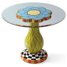 Eclectic Outdoor Tables by Grandin Road
