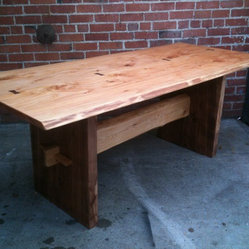 Pecky Cypress Dining Tables Find Square And Round Dining Room Tables