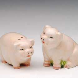 ATD - 1.5 Inch Standing and Sitting Mini Pig Salt and Pepper Shaker Set - This gorgeous 1.5 Inch Standing and Sitting Mini Pig Salt and Pepper Shaker Set has the finest details and highest quality you will find anywhere! 1.5 Inch Standing and Sitting Mini Pig Salt and Pepper Shaker Set is truly remarkable.