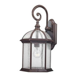Design Outdoor Lanterns. Traditional Wall-Mount 18.75 in. Outdoor Old Bronze Lan
