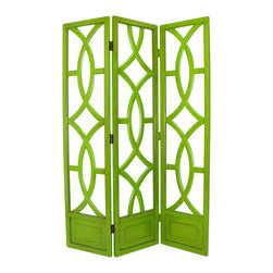 Wayborn - Wayborn Charleston Room Divider in Green - Wayborn - Room Dividers - 2395G -