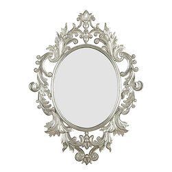 Athena Wall Mirror - I am a fan of the Grecian look, and this is fabulous to boot.