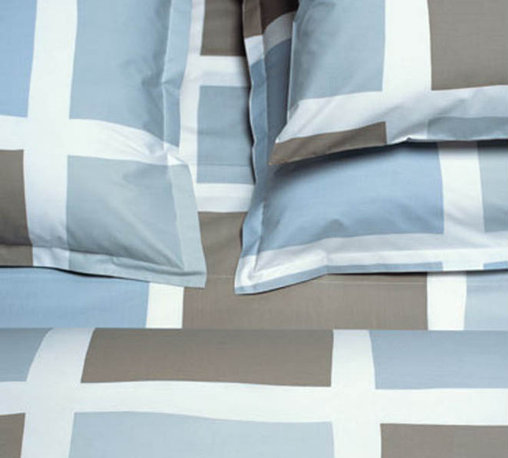 Blocks Sky 50% Organic Cotton Duvet Cover - High quality cotton duvet cover, made from Green materials. A great way to get a modern look with a healthy and eco-friendly product.
