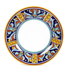 Artistica - Hand Made in Italy - EXCELSIOR: Salad Plate - EXCELSIOR Deruta Dinnerware: