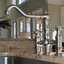 Kitchen & Bath Galleries - Brushed nickel kitchen faucet