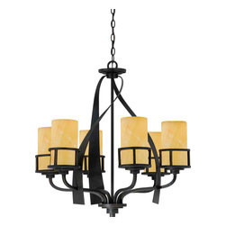 Quoizel Lighting - Quoizel KY5006 Kyle 6 Light Chandelier - 6, 100W A19 Medium